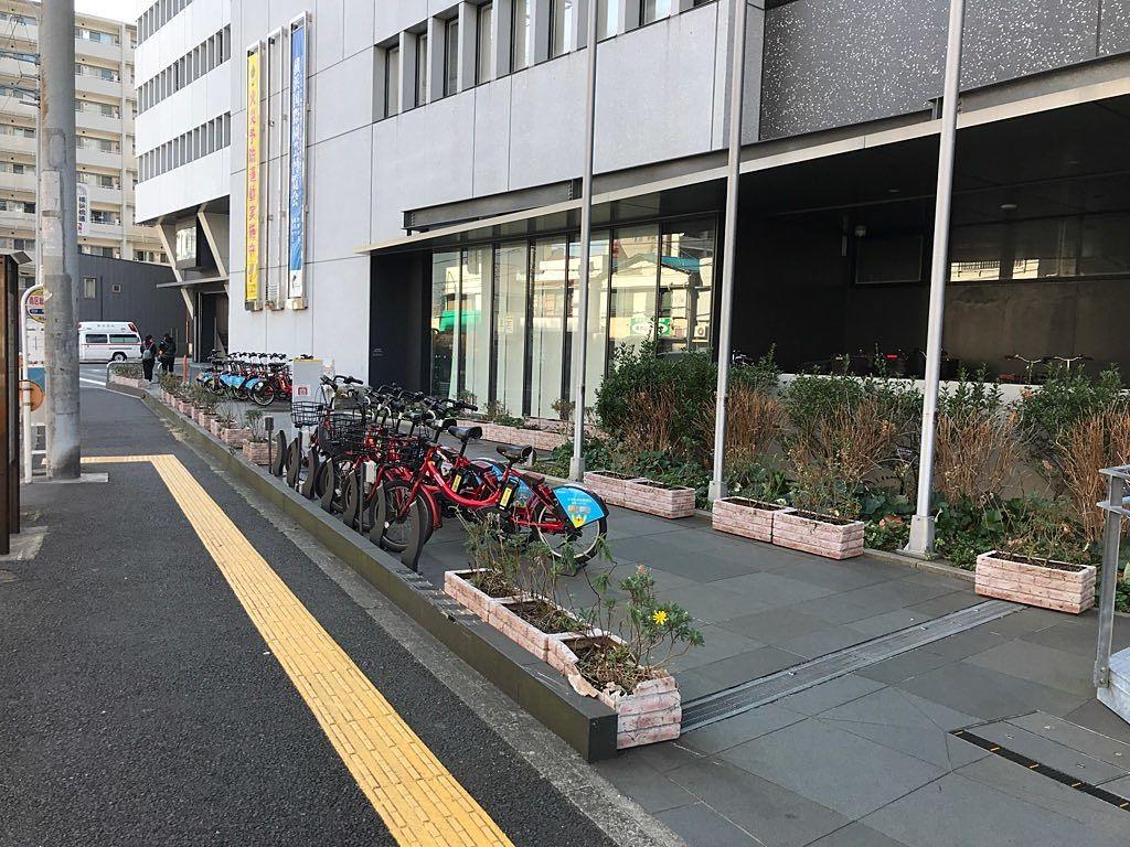 横浜コミュニティサイクル baybike