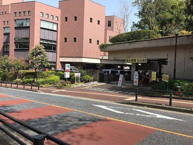 野毛山自動車駐車場