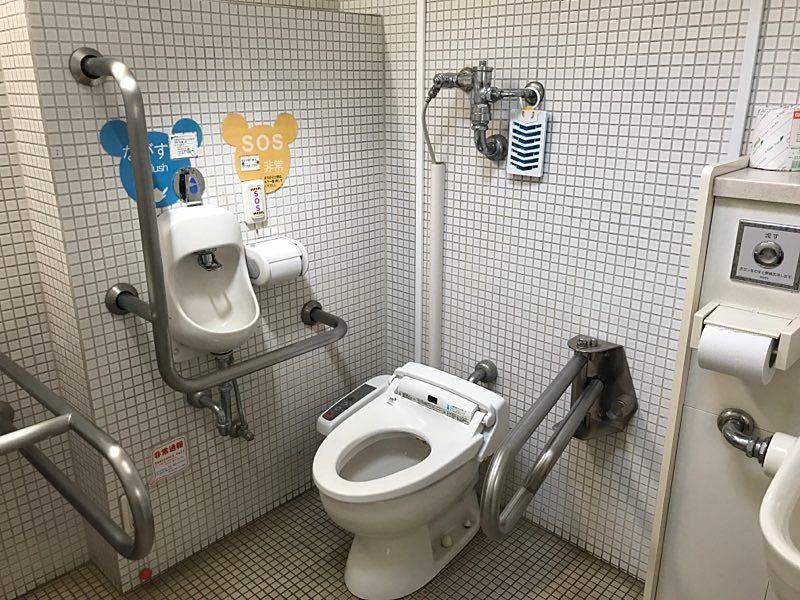 車椅子利用の方の利用も可能です。