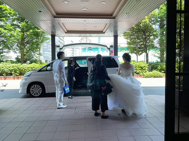 運がいいと花嫁さんに会えます!