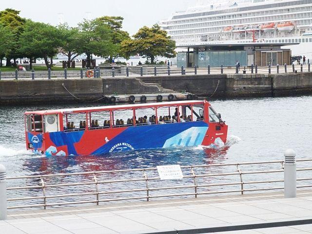 水陸両用バス「SKY Duck」に乗りました!