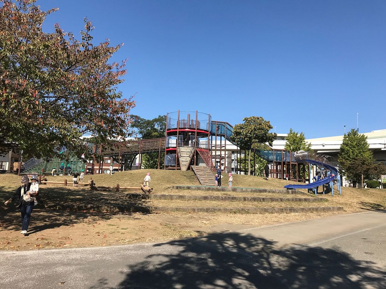 人気の蒔田公園