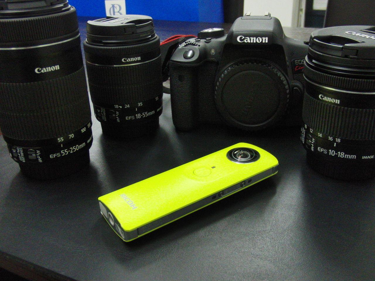 種類豊富なカメラレンズ