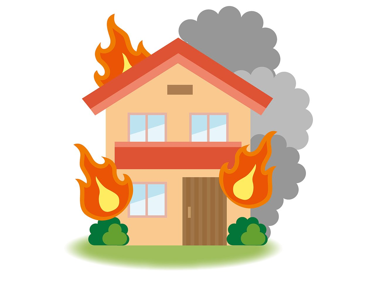 火災事故現場の不動産査定
