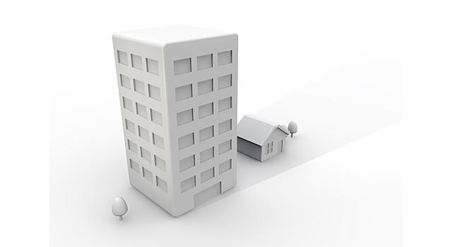 マンション vs 戸建て